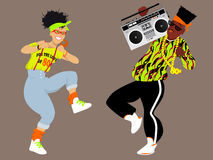1980s hip hop Stock Images