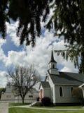 1890s historische Kirche Stockbild