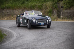 S I A T A Daina Gran Sport Stabilimenti Farina 1952 Royalty-vrije Stock Afbeeldingen
