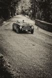 S.I.A.T.A. DAINA GS STABILIMENTI FARINA 1952. PESARO, ITALY - MAY 15: old racing car in rally Mille Miglia 2015 the famous italian historical race 1927-1957 on Royalty Free Stock Photography