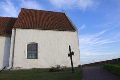 S: igreja de t Ibbs, Suécia Imagens de Stock
