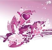 s ilustracyjny valentine Obrazy Stock