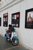 S'informer (曼谷- Thaïlande) 免版税库存照片