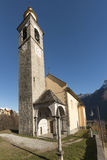 S. James church, Crodo, Ossola Stock Photos