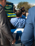 ` S Jimmie Johnson Day de NASCAR en Arizona Imagen de archivo