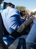 ` S Jimmie Johnson Day de NASCAR en Arizona Fotografía de archivo libre de regalías