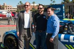 ` S Jimmie Johnson Day de NASCAR no Arizona Fotografia de Stock Royalty Free