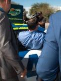 ` S Jimmie Johnson Day di NASCAR in Arizona Immagine Stock