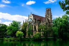 ` S Johannes Kirche Lizenzfreies Stockfoto