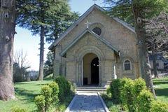 ` S Johannes Kirche bei Dalhousie in Himachal Pradesh, Indien Stockbild