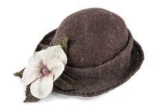 s kapeluszowe kobiety Zdjęcie Stock