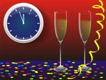 s karciany nowy rok Zdjęcia Royalty Free