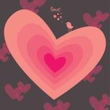 s karciany valentine Fotografia Stock