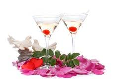 s karciany valentine Zdjęcie Stock