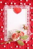 s karciany valentine Zdjęcie Royalty Free
