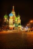 s katedralny basila saint Fotografia Royalty Free
