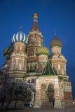 s katedralny Moscow basila saint Fotografia Royalty Free