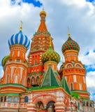 s katedralny Moscow basila saint Zdjęcia Stock