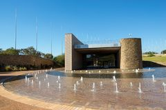 S-` Khumbuto, frihet parkerar, Sydafrika Arkivbilder