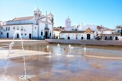 S Kyrka för Maria ` s, Lagos Portugal Royaltyfria Bilder