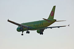S7 - Líneas aéreas Airbus A320 de Siberia Imagen de archivo
