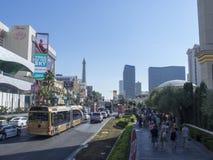 S Las Vegas Blvd, Las Vegas, USA Stock Photo