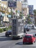 S Las Vegas Blvd, Las Vegas, los E.E.U.U. imágenes de archivo libres de regalías