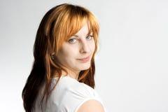 s-leendekvinna Royaltyfria Bilder