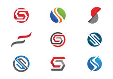 S Letter and S logo Stock Photography