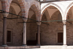 Süleymaniye Mosque Courtyard, Istanbul Royalty Free Stock Photography