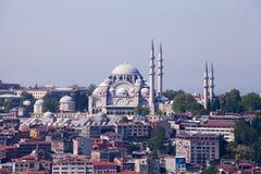 The Süleymaniye Mosque, Istanbul, Turkey Royalty Free Stock Image