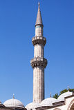 Süleymaniye Mosque Minaret Stock Photography