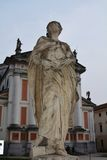 S. Liberty Square in Castelfranco, Italy Royalty Free Stock Images
