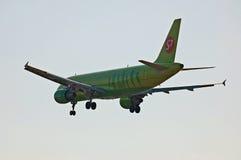 S7 - Linee aeree Airbus A320 della Siberia Immagine Stock