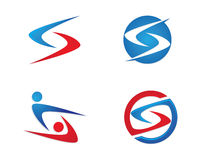 S listu finanse logo Zdjęcia Stock