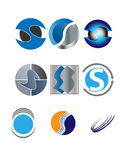 S logo design Stock Images