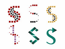 S logo symbols Stock Photo