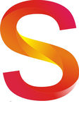 S logo. Vector logo lowpoly abjad `s` alfabet Royalty Free Stock Image