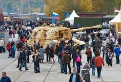 2S19M2 Msta-S Самоходная гаубица 152 mm Стоковые Фотографии RF