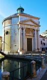 S Maddalena kościół i otoczenia, Wenecja, Włochy, Europa Zdjęcie Stock