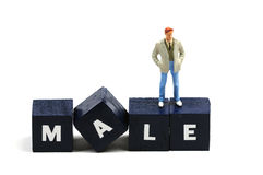 It's a male thing Stock Photo