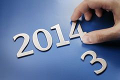 It's 2014 Stock Images