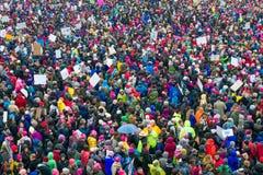 ` S março Minnesota de 2017 mulheres Fotografia de Stock Royalty Free