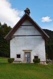 S Margherita kościół w Cadore, Dolomiti góry, Włochy Zdjęcie Stock