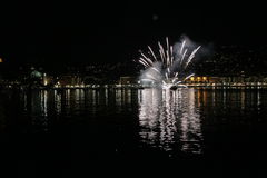 S Margherita Ligure,热那亚,利古里亚,意大利 图库摄影