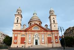 S. Maria in Carignano, Genoa, Italy Royalty Free Stock Image