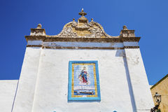 S. Maria degli Angeli Church in Gallipoli, Puglia Royalty Free Stock Images