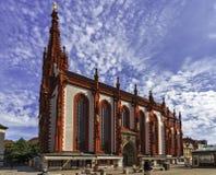 ` S Marienkapelle Mary Kapelle in Würzburg - Deutschland Stockfotos