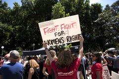` S março das mulheres, Sydney - Austrália Fotografia de Stock