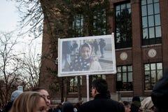 ` S mars de femmes d'Ann Arbor Michigan 2018 Images libres de droits